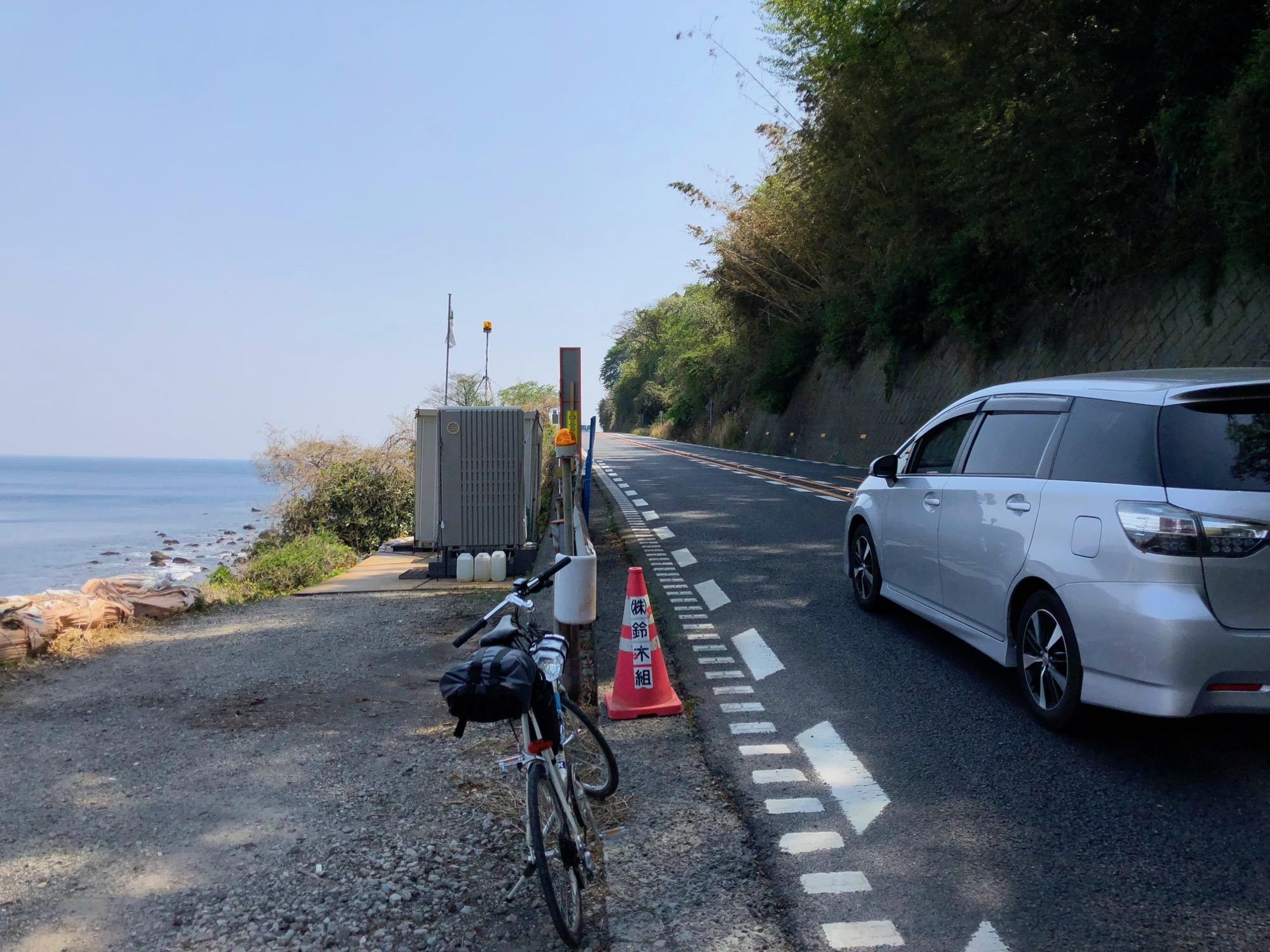 日本一周・Day 4 〝国道135号線って怖すぎん?〟【熱海】